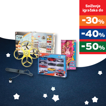 Sniženje igračaka do -50%