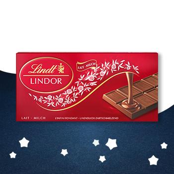 Lindt Lindor mliječna čokolada