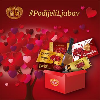 PODIJELI LJUBAV - Kraš paket za Valentinovo
