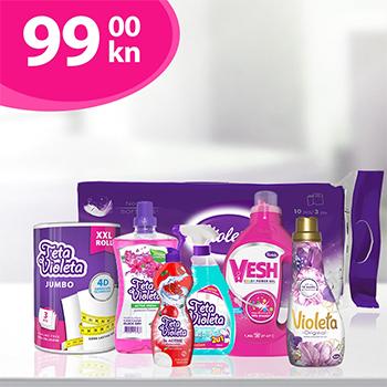Violeta Paket za kućanstvo L